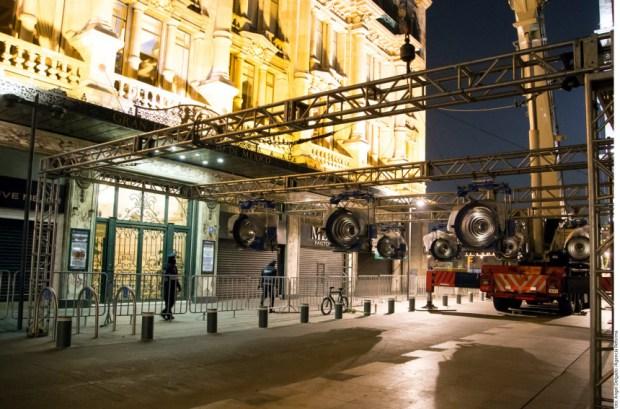 Foto: Set rodaje James Bond CDMX/ CFIlmaCDMX.