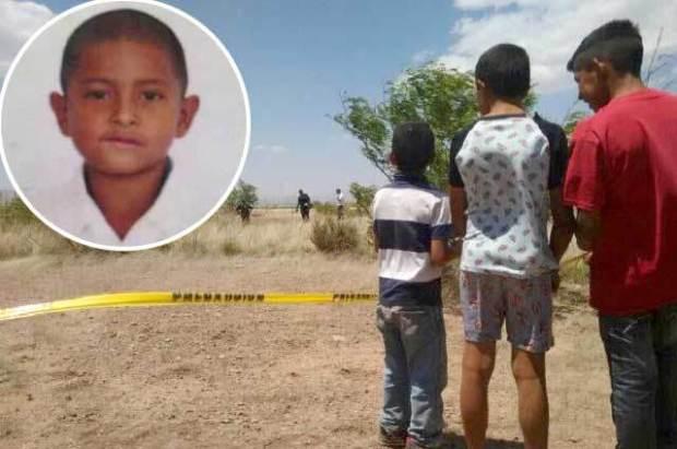 cruel asesinato de un menor de edad