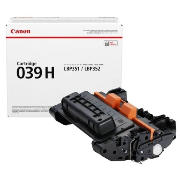 Заправка картриджа Canon 039H в Москве