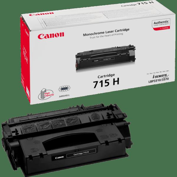 Заправка картриджа Canon 715H в Москве