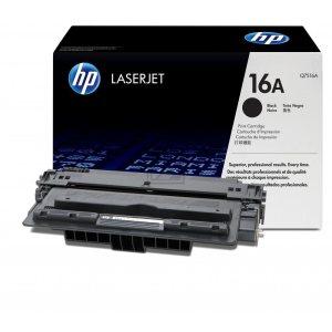 Заправка картриджа HP 16A (Q7516A) в Москве