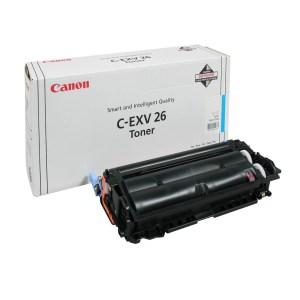 Заправка картриджа Canon C-EXV26 C в Москве