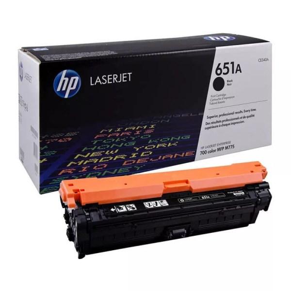 Заправка картриджа HP 651A (CE340A) в Москве