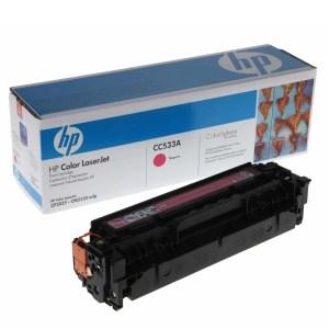 Заправка картриджа HP CC533A в Москве