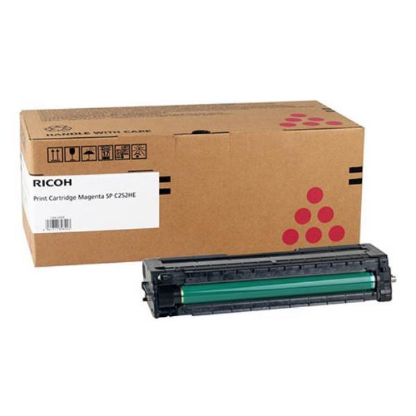 Заправка картриджа Ricoh SP C252HE Magenta