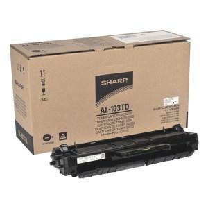 Заправка картриджа Sharp AL-103TD заказать в Москве