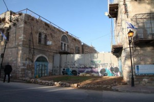 Für Palästinenser geblockter Zugang zur Stadt