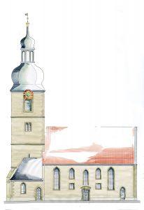 Ansicht Nord Vorschlag 1