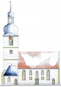 Ansicht Nord Vorschlag 3