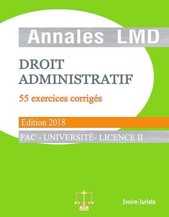 annale de droit administratif ivoirien