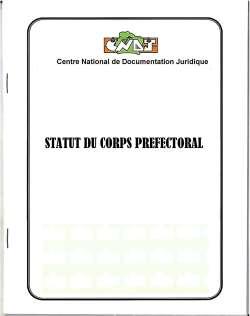 Statut du corps préfectoral