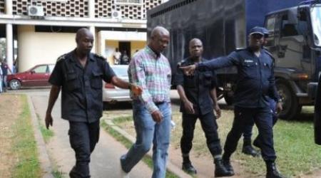 Laurent Akoun à la MACA. De  © AFP par SIA Kambou.