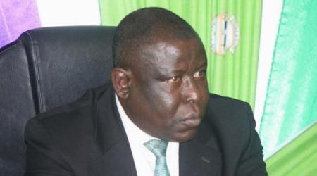 Cissé Bacongo, ministre de l'Enseignement Supérieur et de la Recherche Scientifique, aujourd