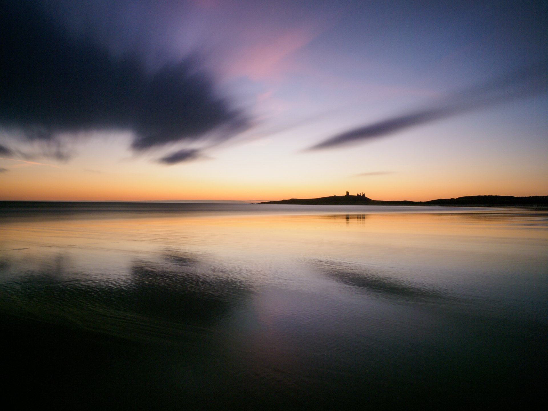 Coastal Colours - Embleton Beach