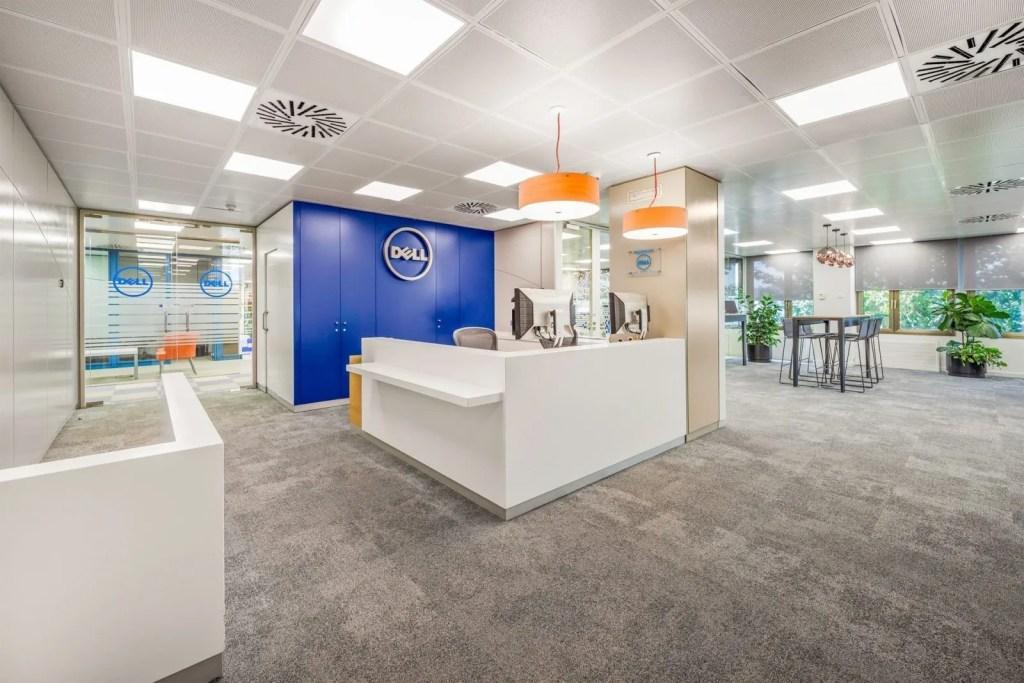Diseño de oficinas DELL - Ivory MGMT