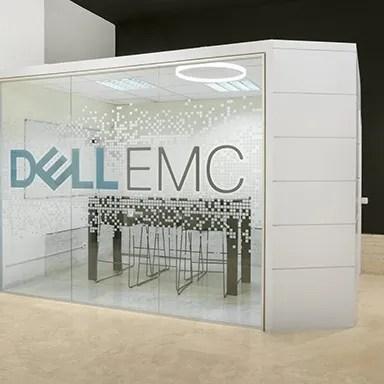 Oficinas Dell, gestión del espacio, ivory