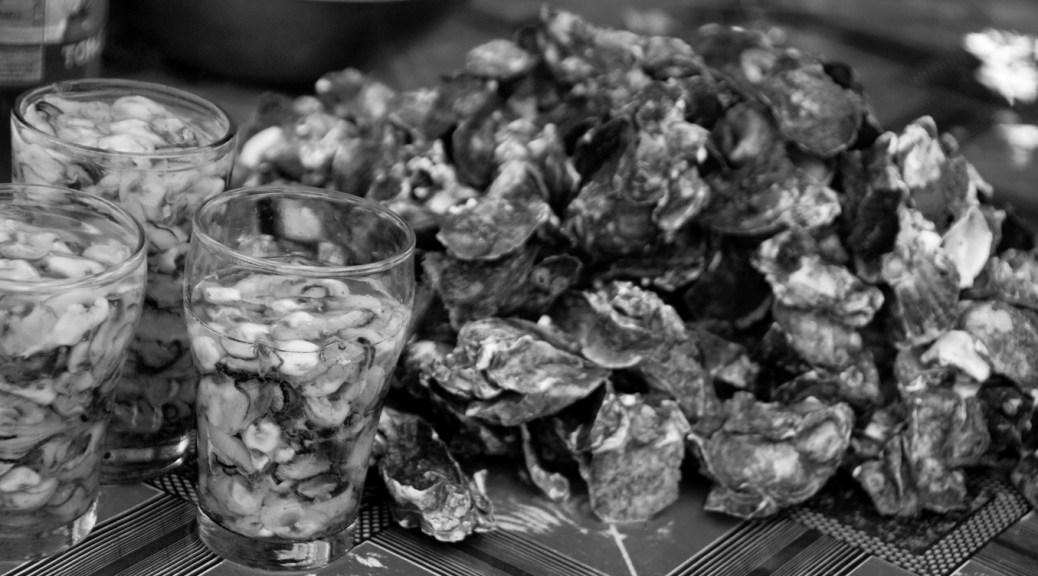 Trinidad street food oysters