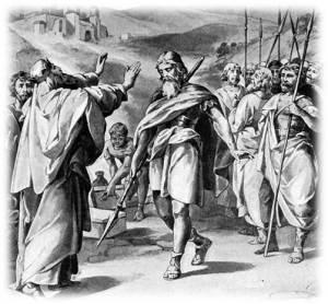 אברם העברי, עטור נצחון, פוגש את מלך סדום