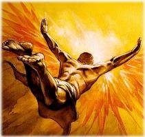 איקרוס מנסה לעוף אל השמש