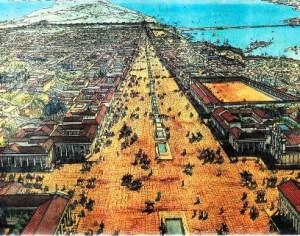 שחזור של אלכסנדריה בתקופה הרומאית