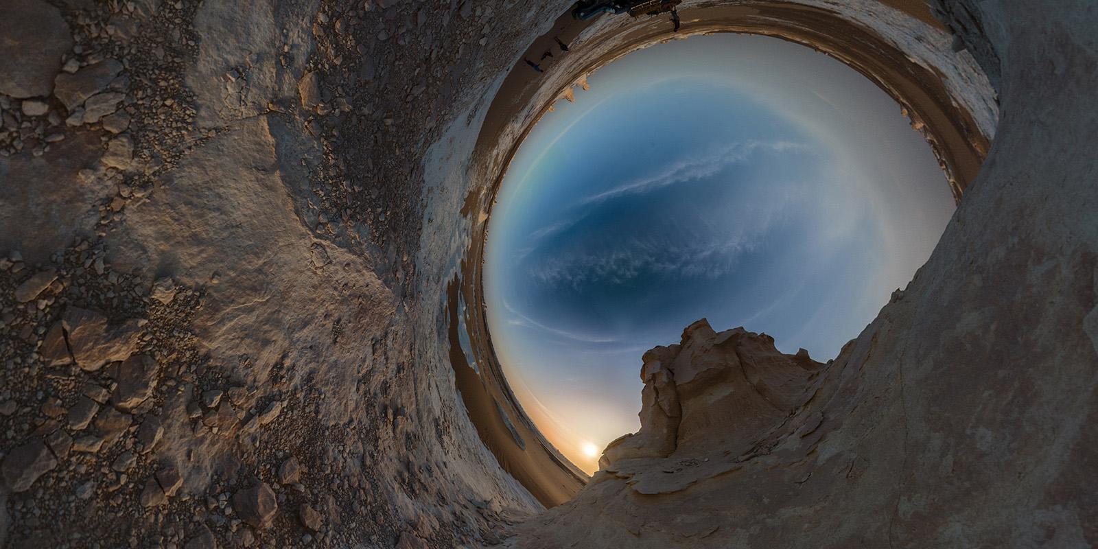 White Desert Campsite - Egypt