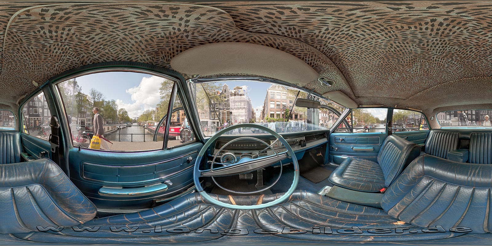 Opel Admiral in Amsterdam