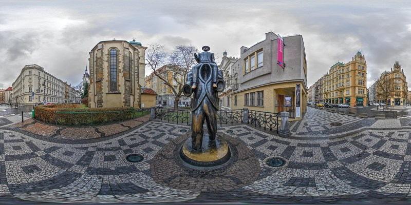 Franz Kafka memorial / Prague / Czech Republic