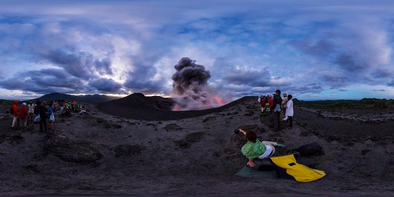 Mt Yasur Eruptio