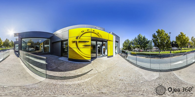 Opel Zaragoza Car Dealership (Zavisa)
