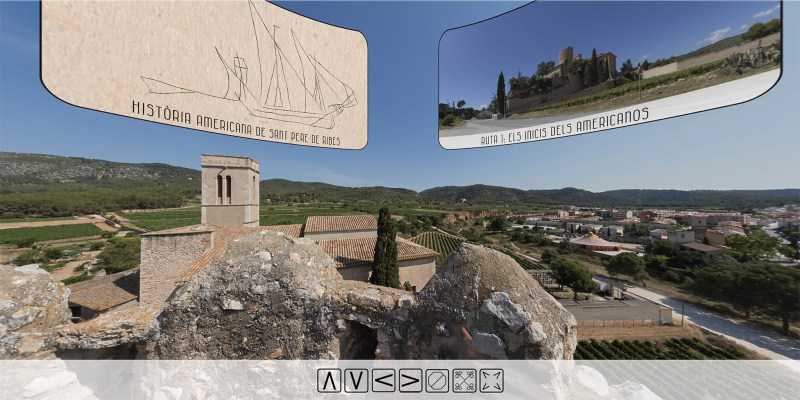 Virtual Tour of Sant Pere de Ribes