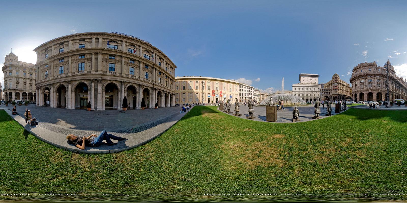 Genova, Piazza De Ferrari