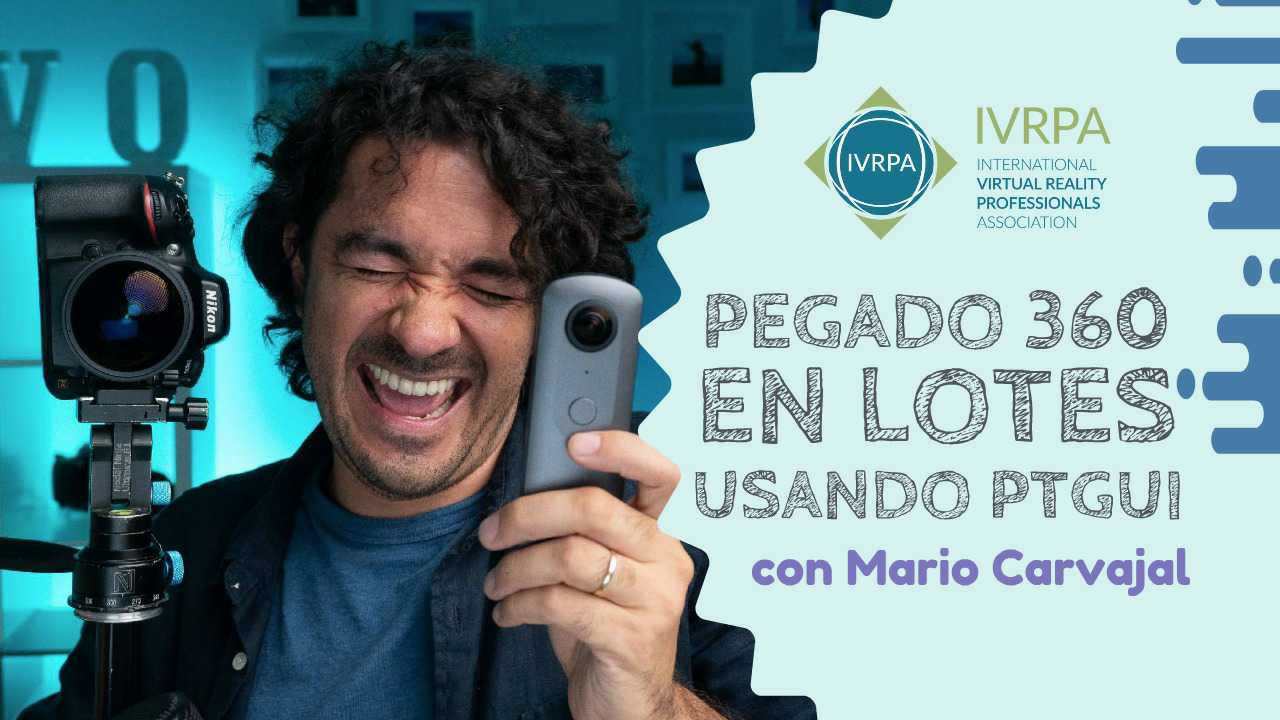 Pegado automático de fotos 360 por lotes en PTGui | Mario Carvajal