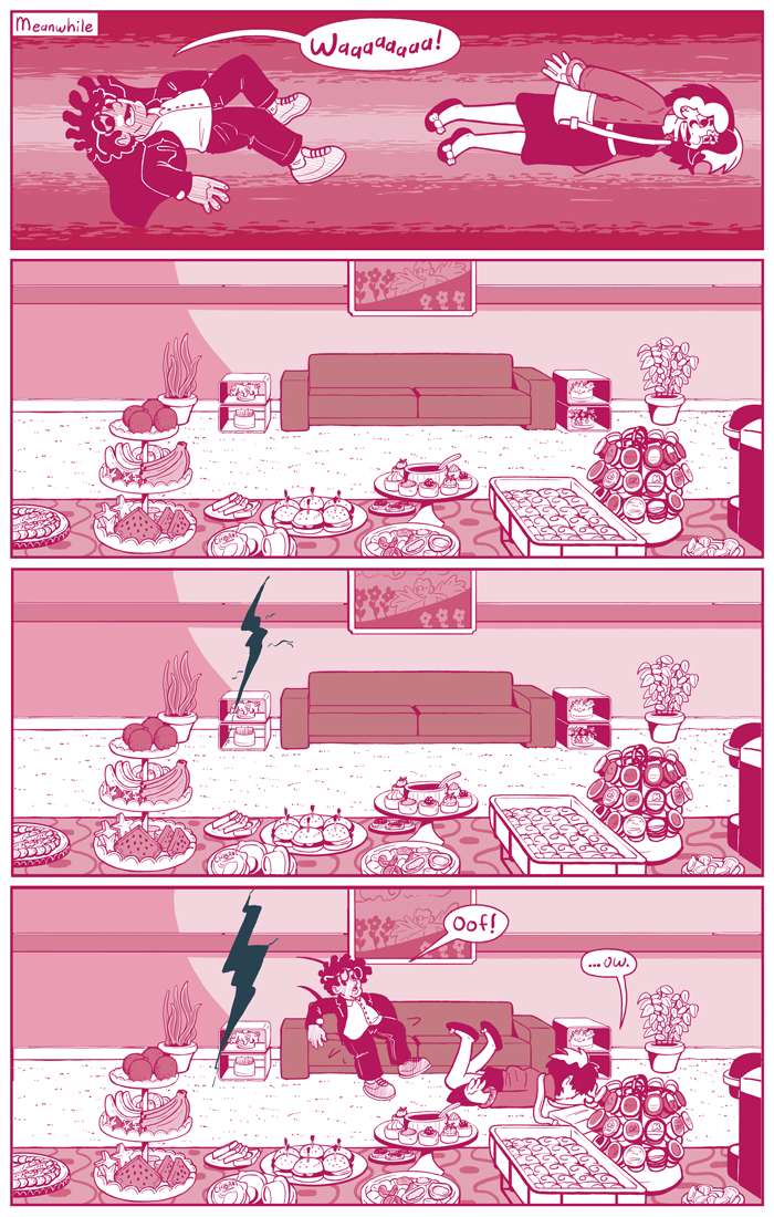 """I was going to call this page """"Two in the Pink,"""" but I figure that's a little too filthy even for me."""