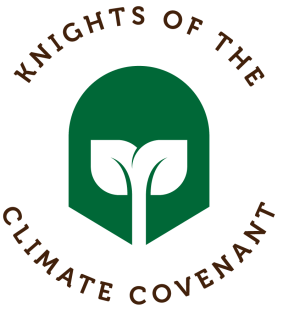 Logo of the Knights of the Climate Covenant