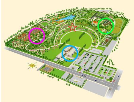 花菜ガーデン地図