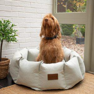 Medium Size Fabric Den Bed In Duck Shell