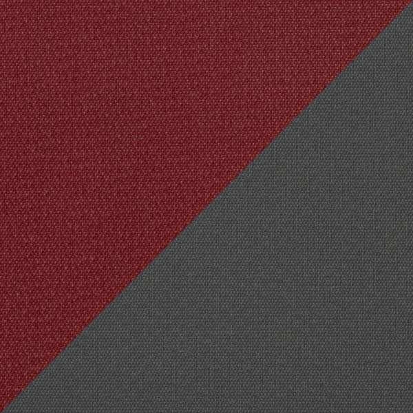 Burgundy Top / Grey Panels