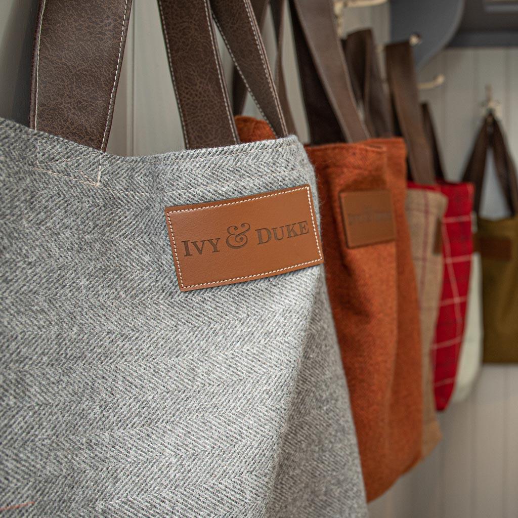 Ivy & Duke Tote Bags