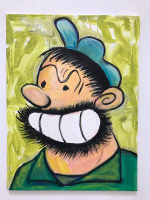 Stained Glass Bluto