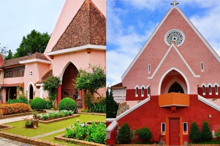 瑪利亞修道院Domaine de Marie 號稱越南大叻粉紅教堂,小清新美照的專屬拍攝地景點!
