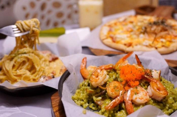 JT燉飯 |一中商圈平價義式餐廳推薦,200元就有多種義大利麵、燉飯、pizza可挑!