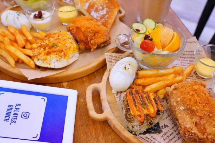 6吋盤早午餐  台南五妃街、台南大學高CP值的平價連鎖早午餐店,免200元就有雙主餐!