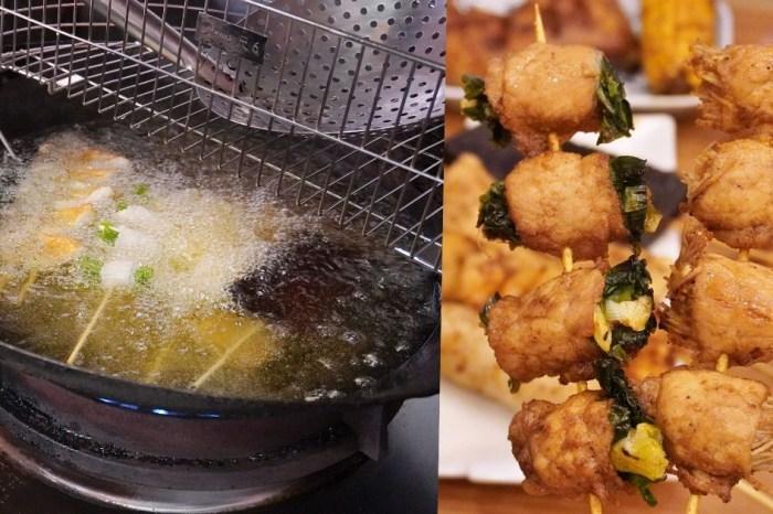 賴記七里香家味串燒  台中科博館旁先炸後烤的平價串燒和鹹酥雞,特調大辣口味麻香超涮嘴!