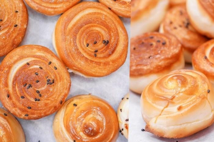 貝蕾特甜點屋 |台中健行路IG美食,每天兩點半新鮮出爐的手作上海脆皮烤饅頭,一顆只要7元,打卡還送2顆喲!