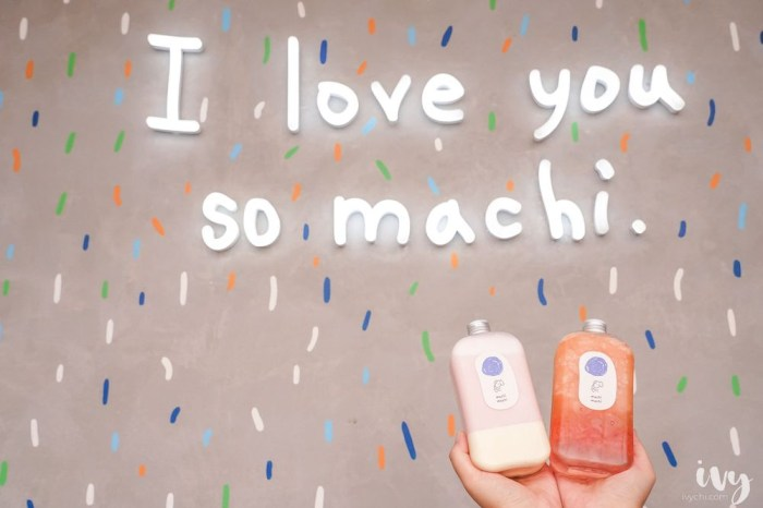 麥吉machi machi台中店 |勤美IG打卡飲品,超夢幻的草莓鮮奶和烤布蕾紅茶拿鐵,必拍網美最愛打卡牆!