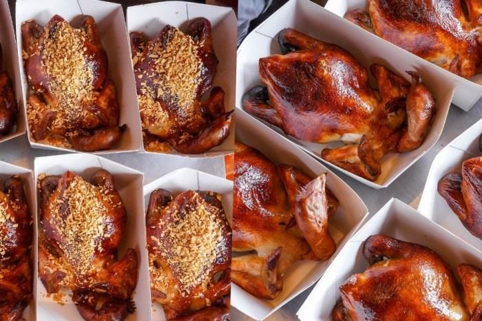 暗巷烤雞  台中香噴多汁的1.5KG手扒雞!每日限量的現烤金黃蒜香雞、季節限定的豬肋排,一定要先預訂