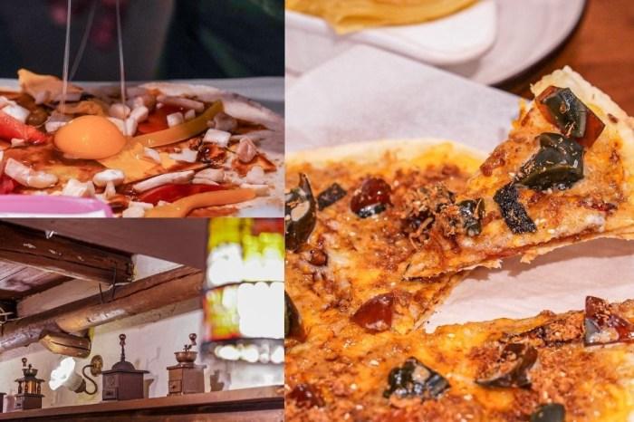 斐得蔬食民權店 |台中素食者激推蔬食餐廳!台中火車站歐風老宅,結合鹹蛋黃、皮蛋的素食料理,光看就胃口大開!