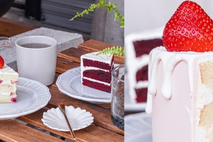 NewTro Dessert  台中柳川水岸甜點店,限量草莓蛋糕、紅絲絨蛋糕,草莓控別撲空了!