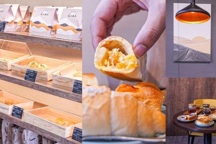 沐山麵包 |大坑隱藏版美食,限量出爐純手工麵包配咖啡,再遠眺高山綠景超愜意!