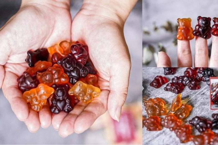 螞蟻窩小熊軟糖  15種水果軟糖,還是可愛的小熊造型,果汁純度天然,越嚼越香甜